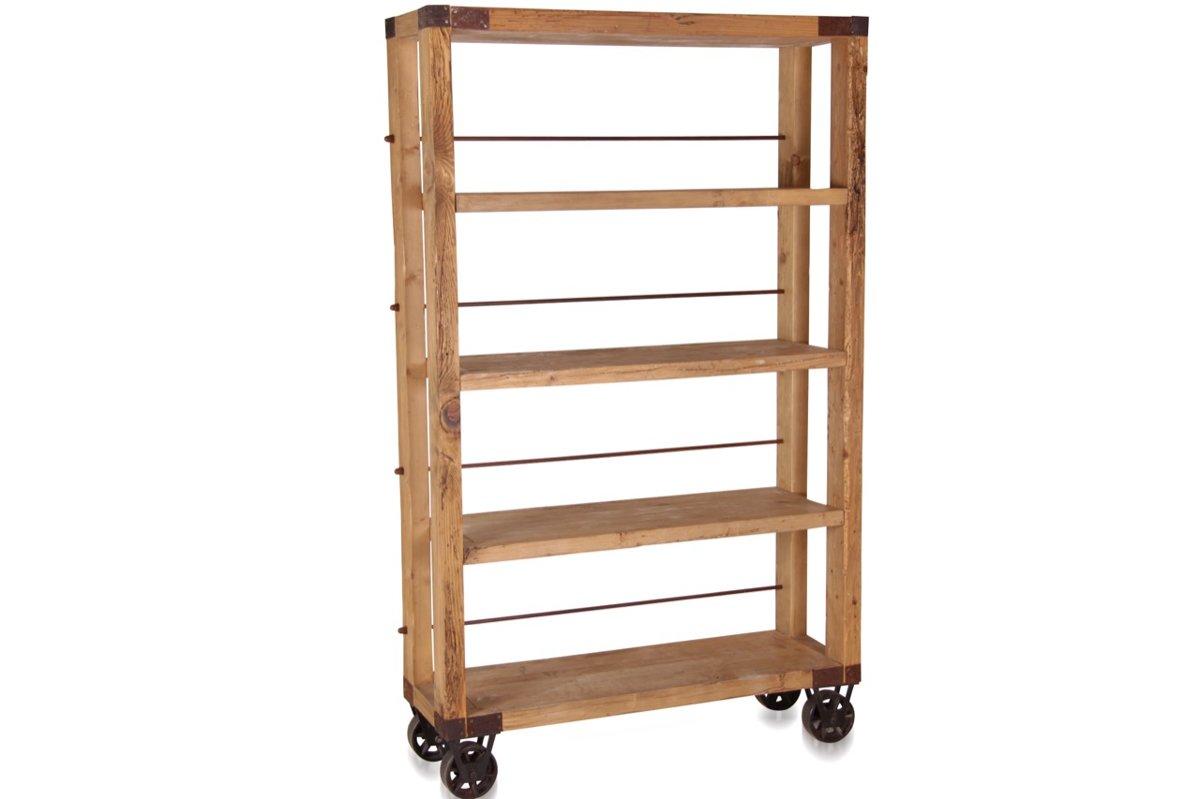 Industrial Bücherschrank, Bücherregal, Regal